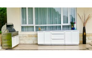 Outdoor Kitchen, Outdoor kitchen cabinets, Outdoor cabinets, Stainless Steel cabinets