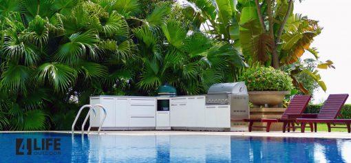 Outdoor Kitchen, 4 Life Outdoor, stainless Steel outdoor kitchen cabinets, outdoor cabinets
