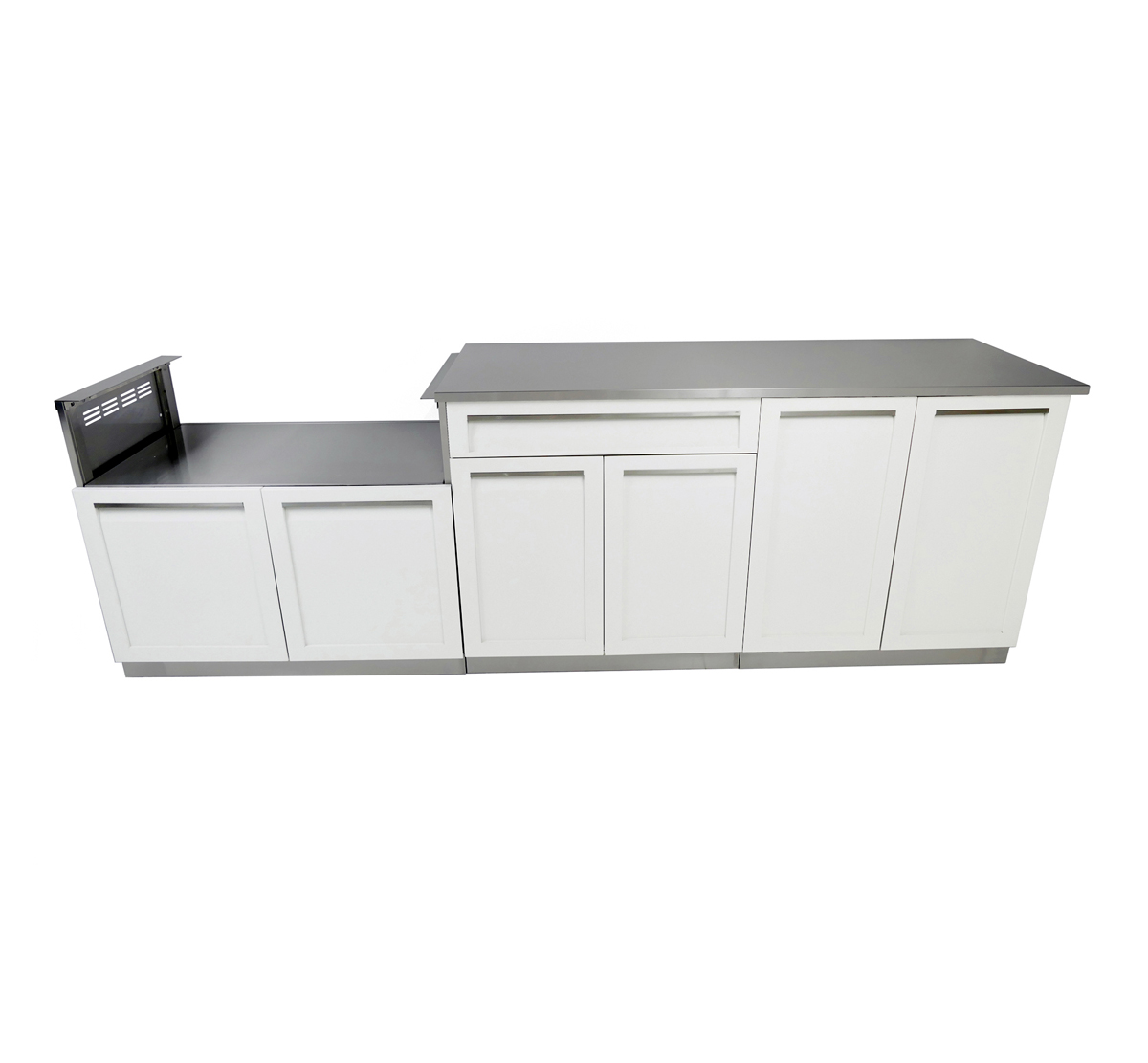 4 piece outdoor kitchen cabinet set w40078 4 life for Kitchen cupboard set