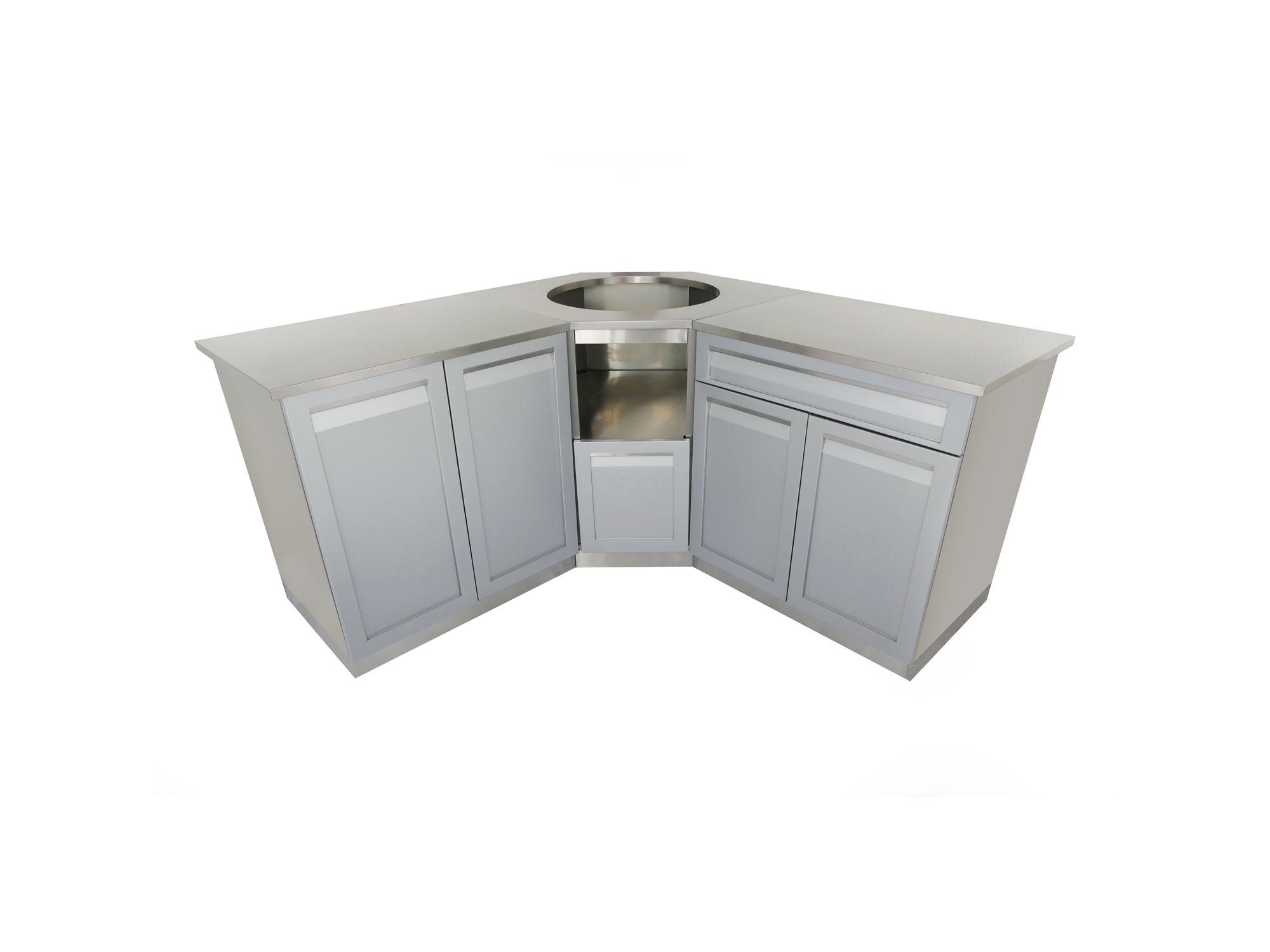 5 piece outdoor kitchen cabinet set g40031 4 life for Kitchen cabinet sets