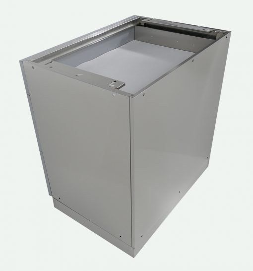 3 Drawer Back of Cabinet Stainless Steel 4 Life Outdoor