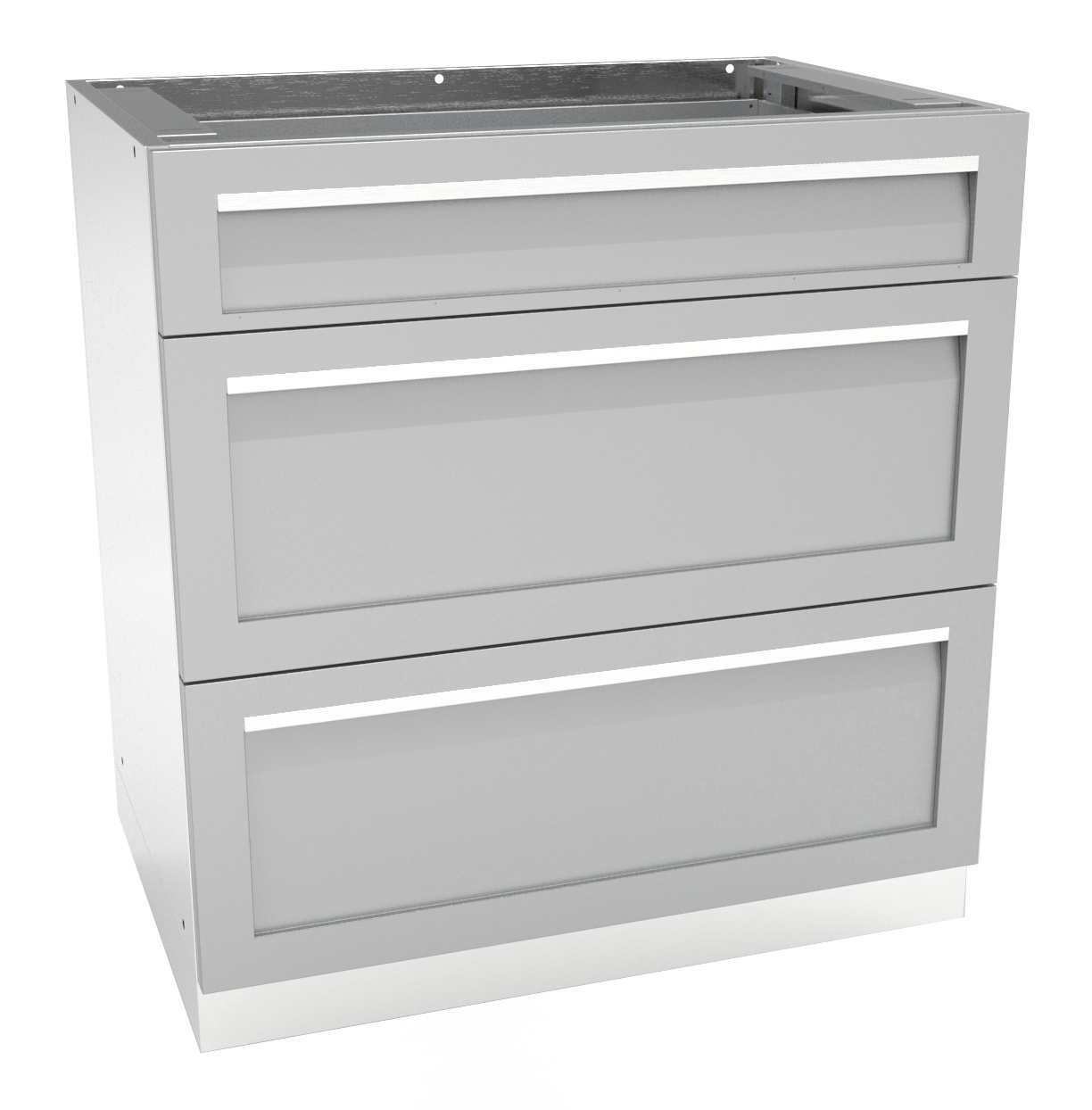 3 drawer outdoor kitchen cabinet g40003 4 life outdoor for Kitchen cabinets and drawers