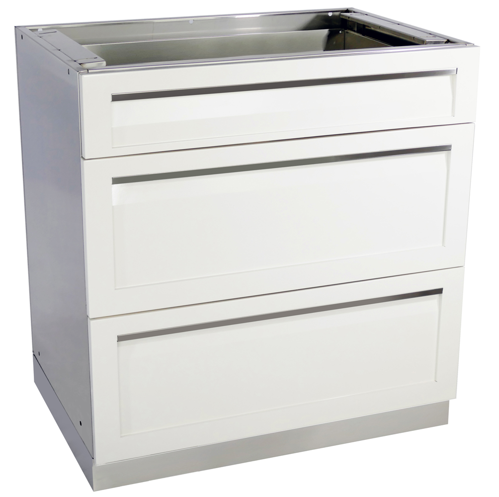 3-Drawer Outdoor Kitchen Cabinet - W40053 - 4 Life Outdoor Inc.