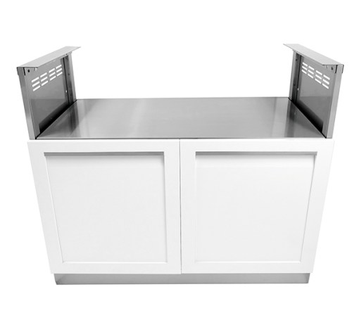 4 Life Outdoor White BBQ cabinet 600