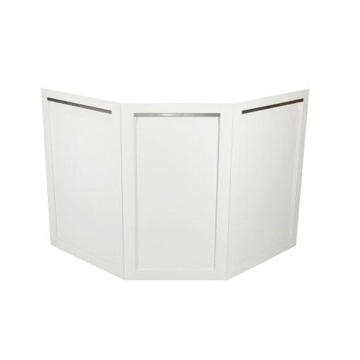 Decorative Corner Back Panels in White - W40098 1