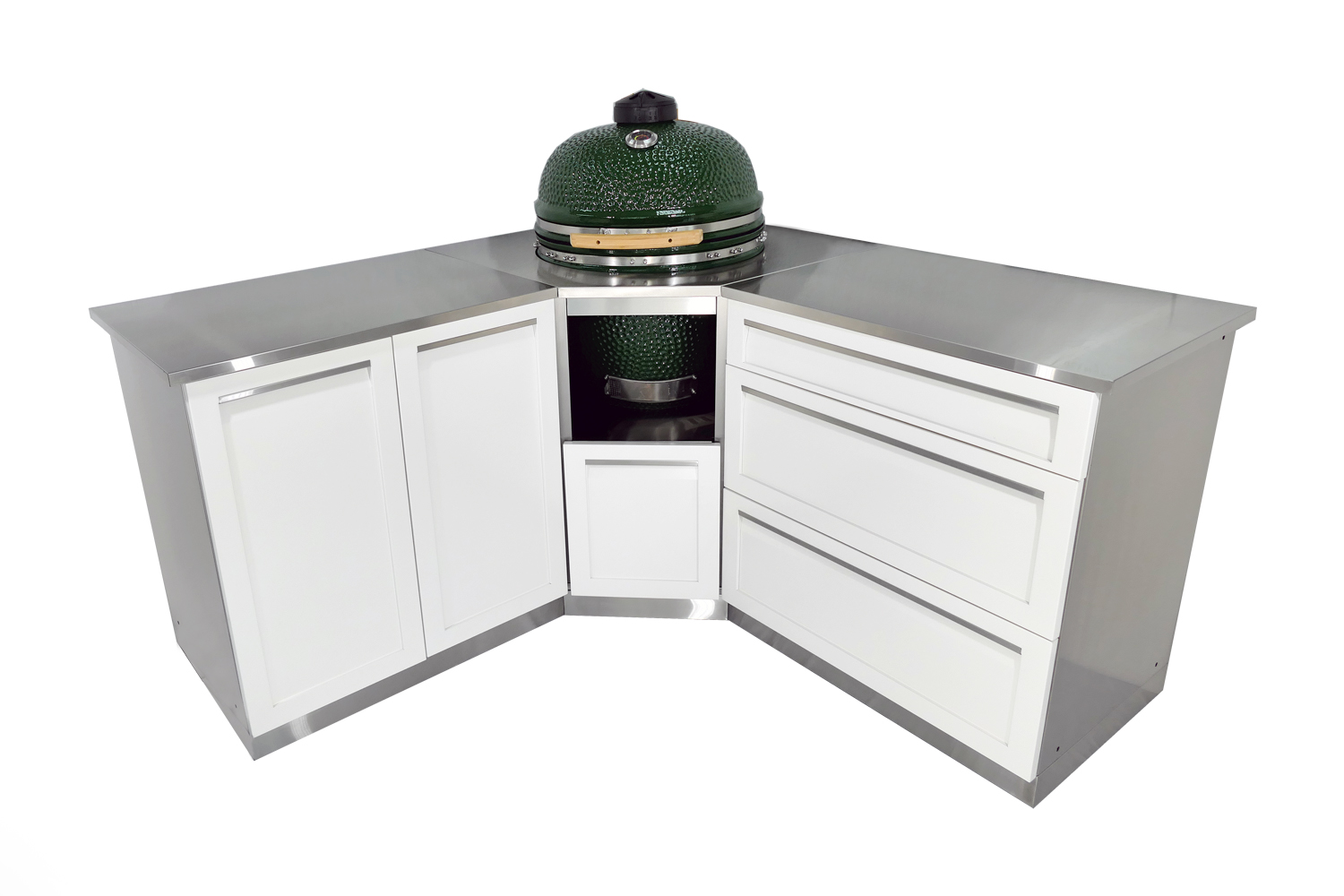 Insert Kamado Grill Outdoor Kitchen Cabinet - W40056 - 4 Life ...