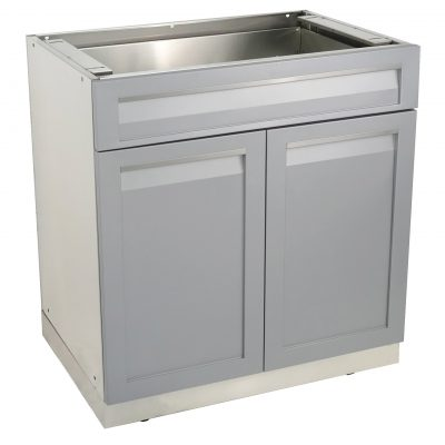 Modular 304 stainless steel cabinets and outdoor kitchens