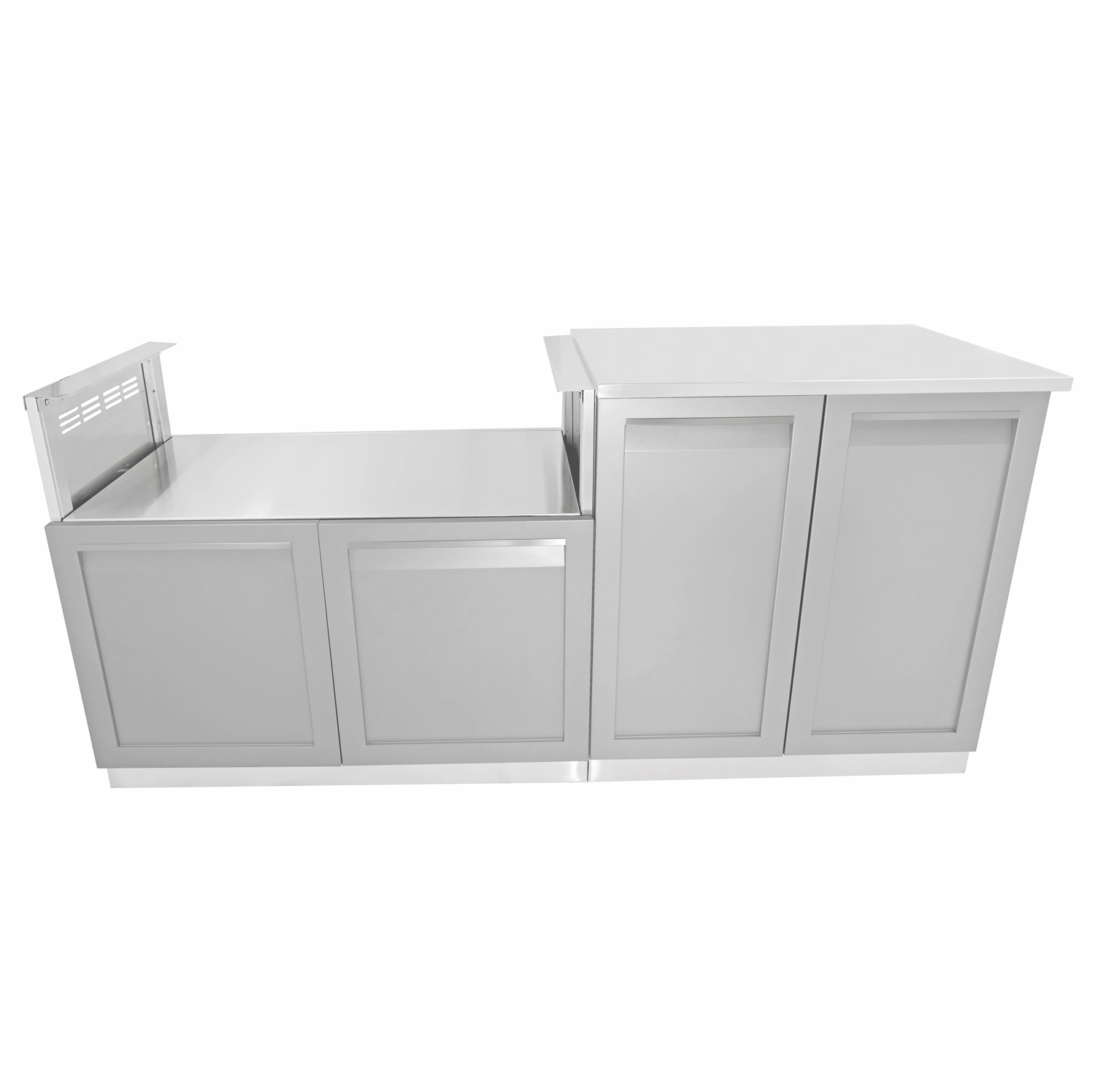 4 Life Outdoor Cabinet Set In Gray