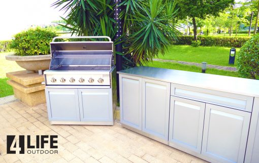 4 Life Outdoor - Gray cabinet set 1500