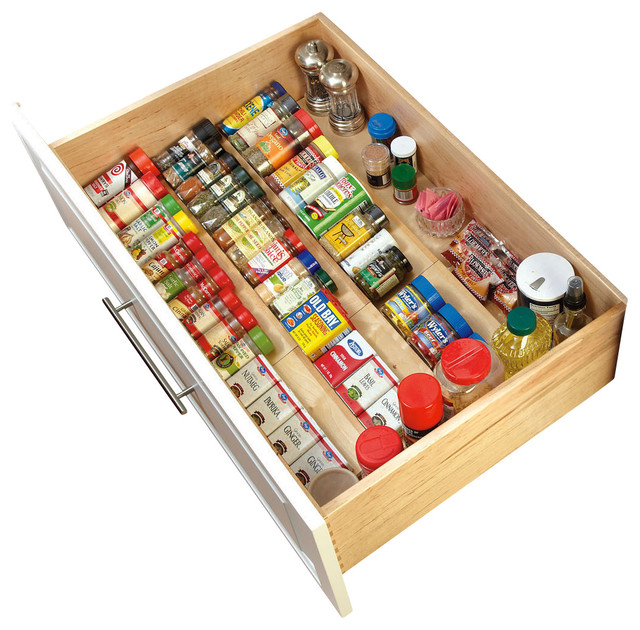 Drawer Spice Cabinet organization