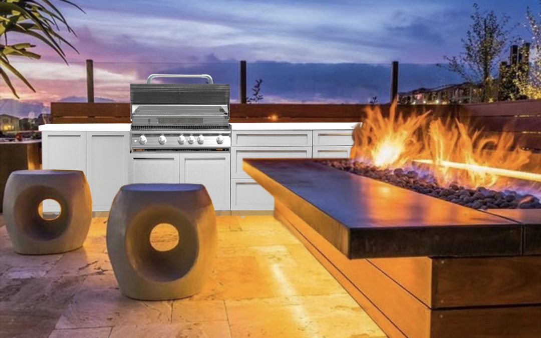 How to plan a perfect outdoor kitchen