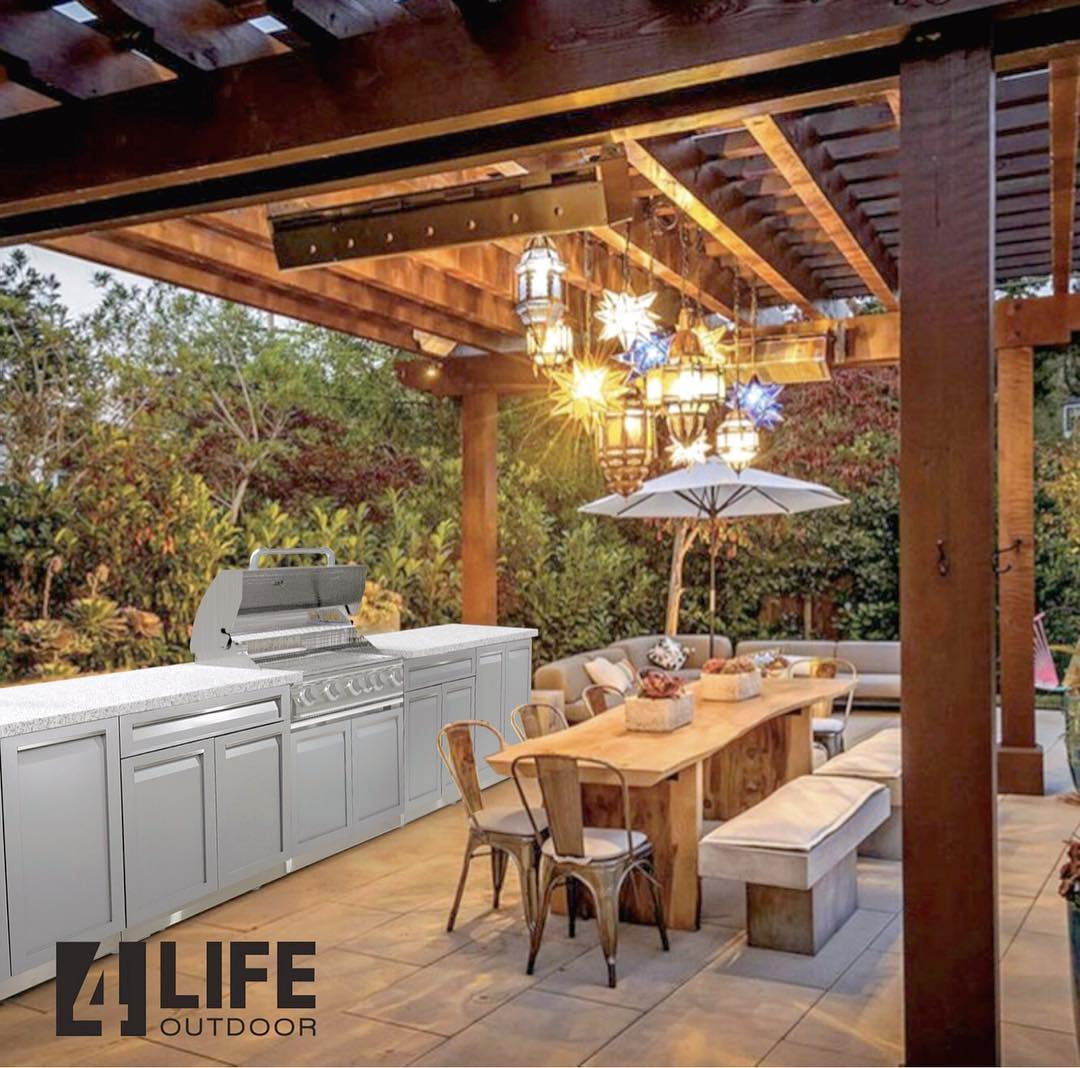 The Different Types of Outdoor Kitchen Materials 6