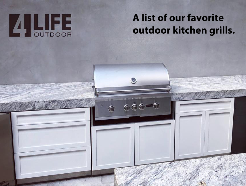Our favorite outdoor kitchen drop in grills 2019