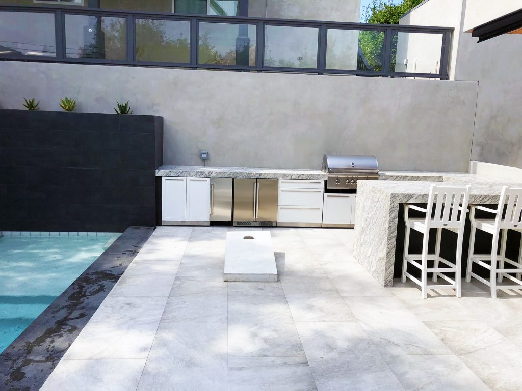The Different Types Of Outdoor Kitchen Materials 4 Life Outdoor Inc