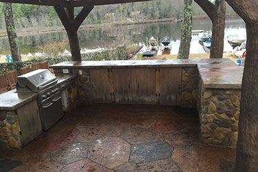 The Different Types of Outdoor Kitchen Materials 2