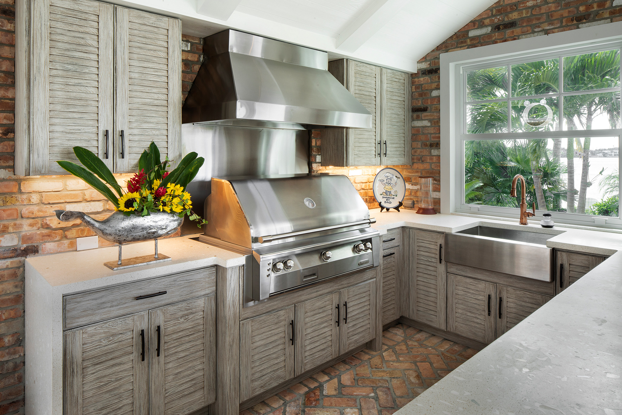 The Different Types of Outdoor Kitchen Materials - 4 Life ...