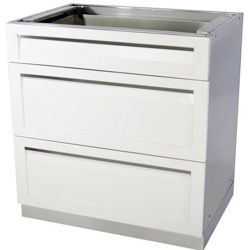 3 drawer stainless steel cabinet 4 life outdoor kitchen