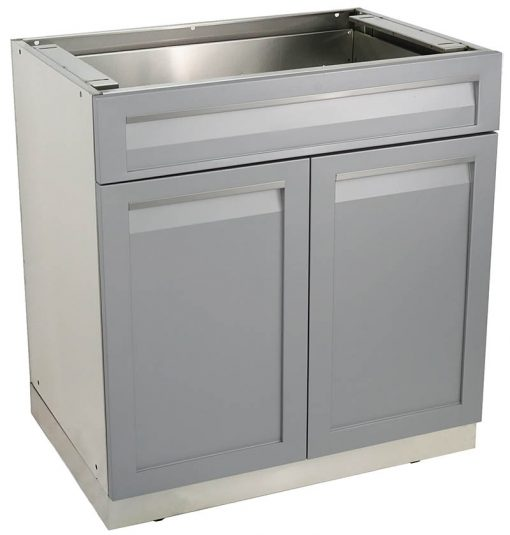 outdoor kitchen cabinets drawer plus 2-door cabinet