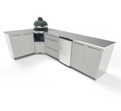 Fridge for your outdoor kitchen 1