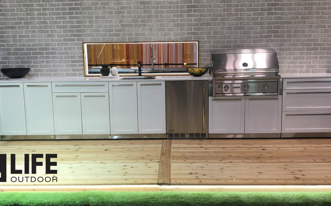 Fridge for your outdoor kitchen