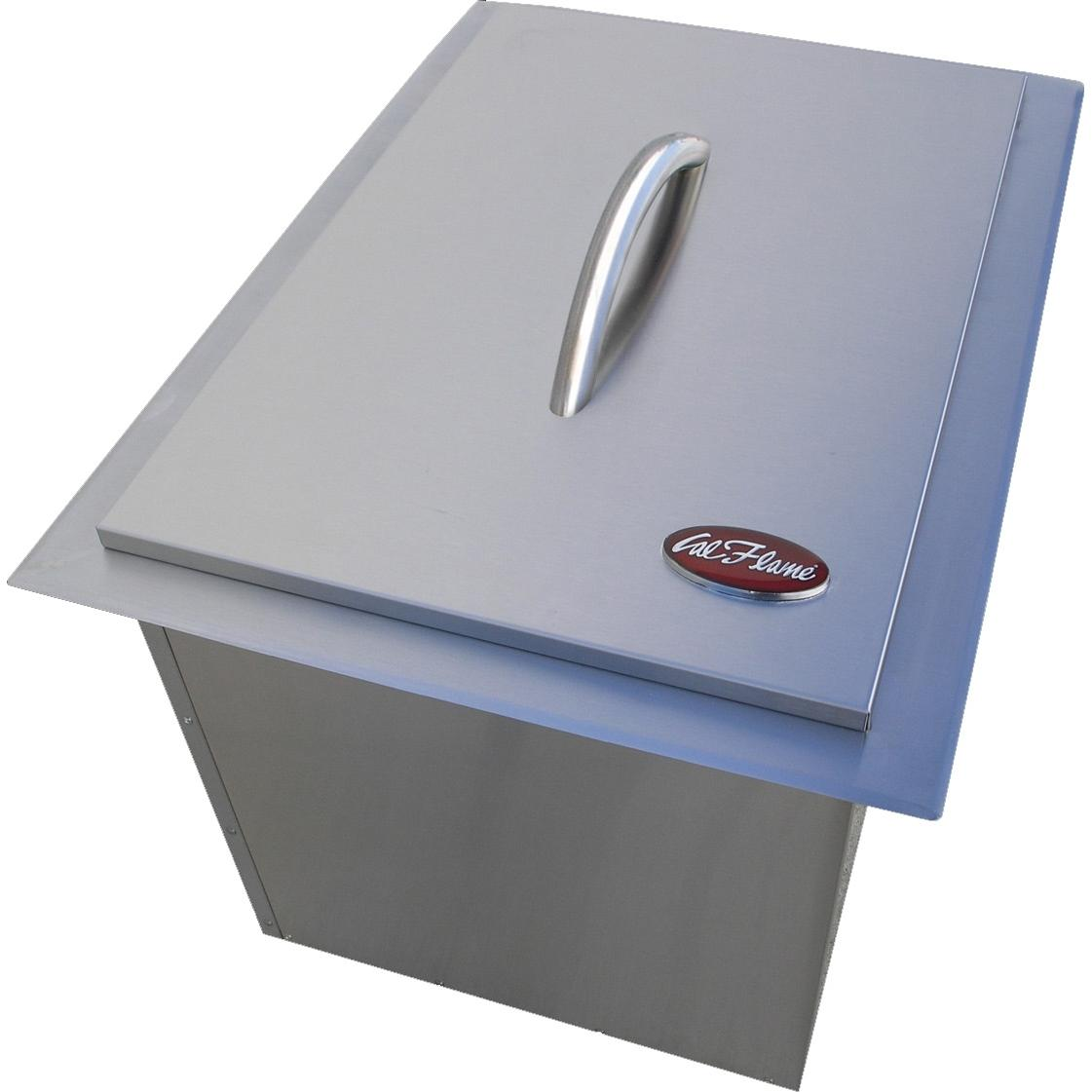 Stainless Steel Ice Bin Cooler/Wine Chiller in Outdoor Cabinets 4