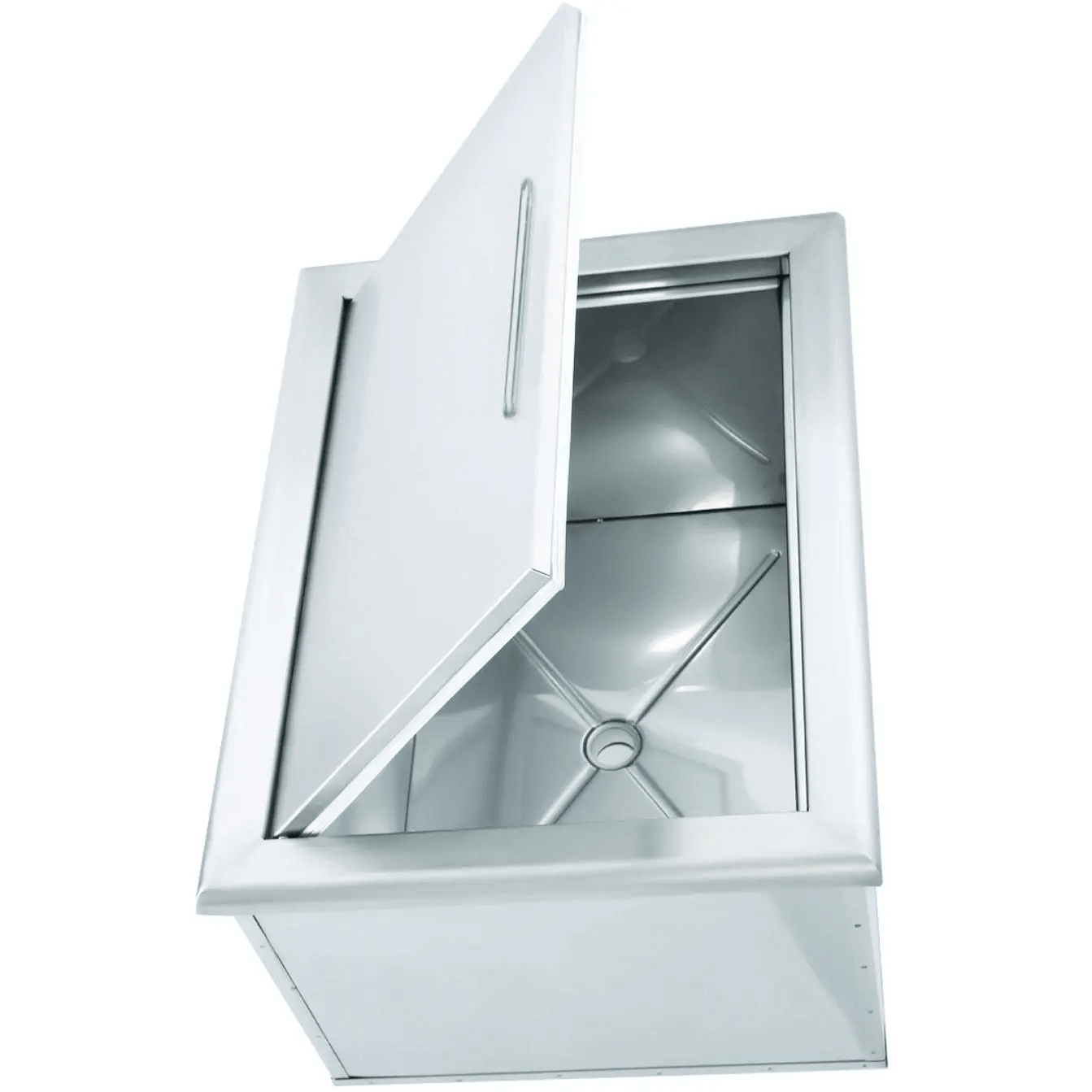 Stainless Steel Ice Bin Cooler/Wine Chiller in Outdoor Cabinets 6