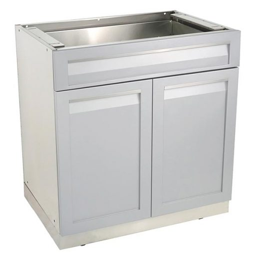 1G40003 - Drawer plus 2 door cabinet side angle 600