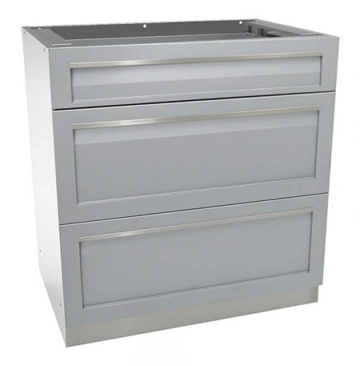 4 Life Outdoor - 3 Drawer Gray G40003 600