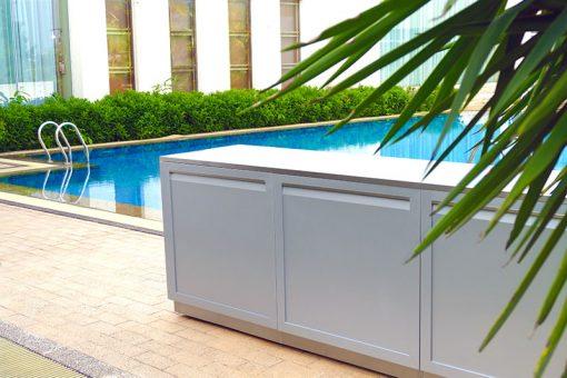 88-Inch Stainless Steel Outdoor Kitchen Countertop 4
