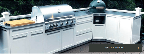 Grill cabinets drop in BBQ and Kamado ready cabinets page