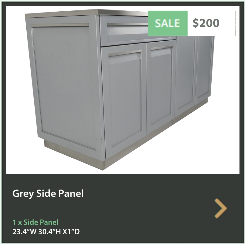 4 Life Outdoor Product Image Grey Side Panel